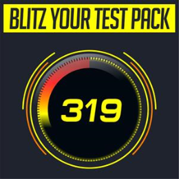 Blitz your test! - NO TMR FEE