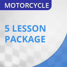 6 hrs Motorcycle Lesson Package (no road test)