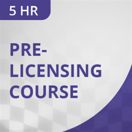 5 Hr Pre-Licensing Course