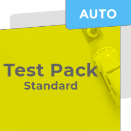 Car Test Pack - Standard (Auto)