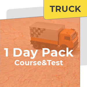 1 Day HR Truck Course and Test at Friendly Driving School