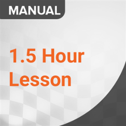 1.5 Hour Lesson (Manual)