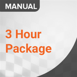 3 Hour Lesson Pack (Manual)