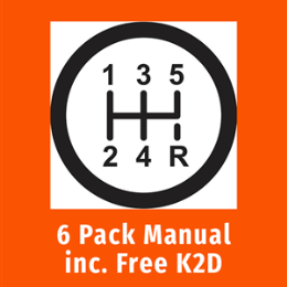 5 Hour Lesson Pack (Manual)