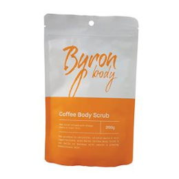 Byron Body Coffee Body Scrub 200g