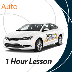 1 Hour Auto Driving Lesson at XDT Driving Instructors