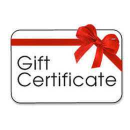 Gift Certificate 60m