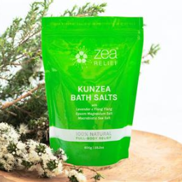 Kunzea Bath Salts 100g