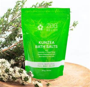 Kunzea Bath Salts 800g at First Things First Wellness Centre