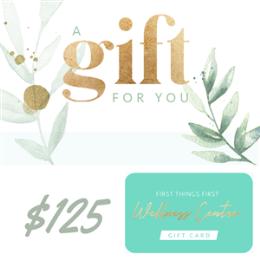 $125 Gift Voucher