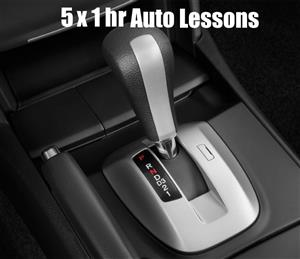 5 x 1 Hour Automatic Car Lesson at TK's Driving School
