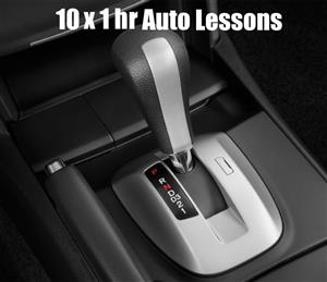 10 x 1 Hour Automatic Car Lessons at TK's Driving School