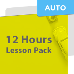12 Hours Car Lesson Pack (Including 3 Night Time Lessons) AUTOMATIC