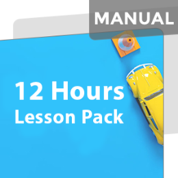 12 Hours Car Lesson Pack (Including 3 Night Time Lessons) MANUAL