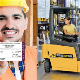 Combo: Forklift Licence + White Card
