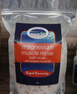 Rapid Recovery Magnesium Soak at Zing Massage Therapy