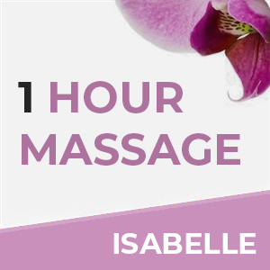 1 Hour Massage With Isabelle at Sense of Balance