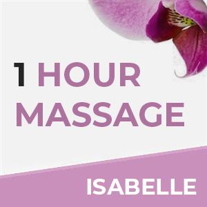1 Hour Massage With Isabelle at Sense of Balance Massage Therapy & Reflexology