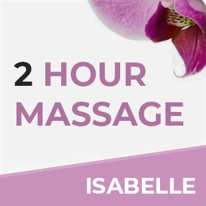 2 Hour Massage With Isabelle at Sense of Balance