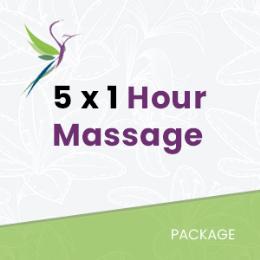 5 Remedial Massage Bundle
