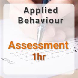 Applied Behaviour Assessment - 1hr