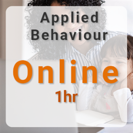 Online Applied Behavior Analysis - 1hr