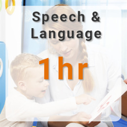 Speech & Language Therapy - 1hr