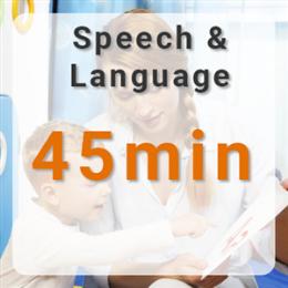 Speech & Language Therapy - 45mins