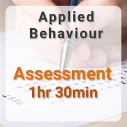 Applied Behavior Assessment - 1hr 30min