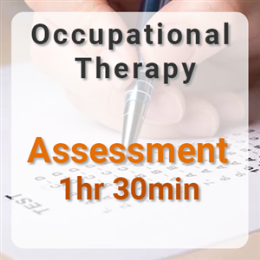 Occupational Therapy Assessment - 1hr 30min