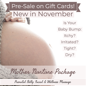 Mother Nurture Belly Facial Package  (Was $145, Save $20) at Vital Living WellSpa