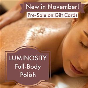Luminosity Full-Body Polish (Save $10) at Vital Living WellSpa