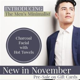 The Men's Minimalist Facial Treatment (Save $10)