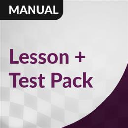 Manual Lesson + Test: Highfields, Hodgson Vale, Vale View, Westbrook