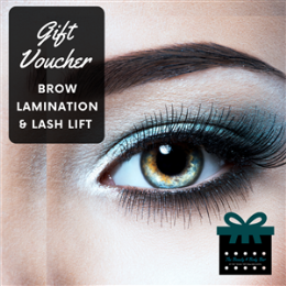 Brow Lamination & Lash Lift Package