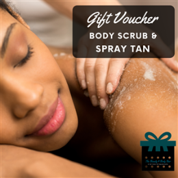 Body Scrub & Spray Tan Package
