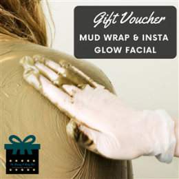 Mud Wrap & Insta Glow Facial Package