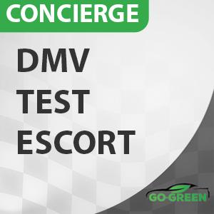 Concierge DMV Test Escort at Go Green Driving School