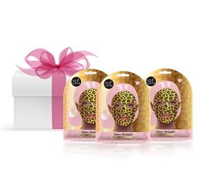 Glam Straight - Gold Foil Face Mask- 3 Pack at First Things First Wellness Centre