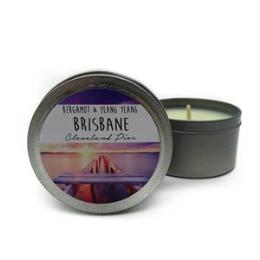 Cleveland Tin Candle - Bergamot & Ylang Ylang