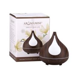 Aromamatic Ultrasonic Mist Diffuser Dark Woodgrain Anise