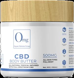 CBD Body Butter at Tri-Covery Massage & Flexibility