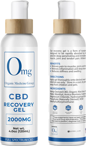 CBD Recovery Gel 2000 at Tri-Covery Massage & Flexibility