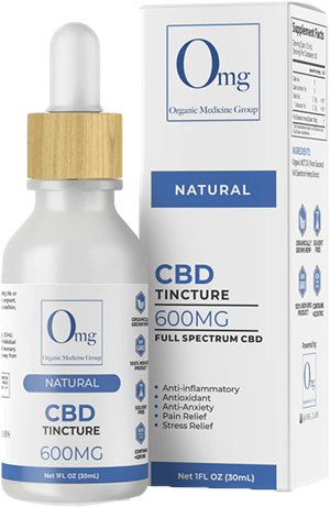 CBD Tincture Oil 600 at Tri-Covery Massage & Flexibility