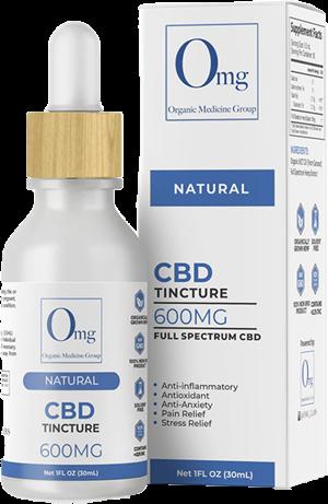 CBD Tincture Oil 600 at Tri-Covery Massage & Flexibility