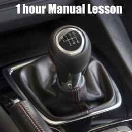 1 Hour Manual Car Lesson