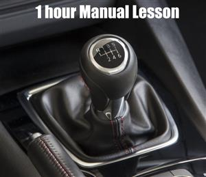 1 Hour Manual Car Lesson at TK's Driving School