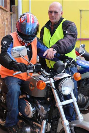 Motorbike R Lesson at TK's Driving School