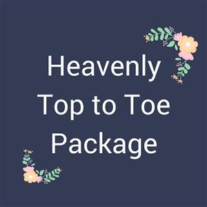 Treatment Packages - Heavenly Top to Toe at Bay Harmony Skin & Body