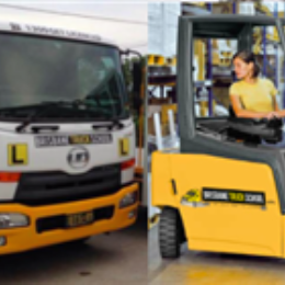 Combo: MR Truck Licence + Forklift Licence